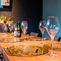 接待や記念日、お祝いのお席に適した個室。