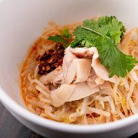 香味野菜とエビが香る冷たいまぜ麺「シャンユー麺」