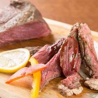シェフのイチオシ「自家製ローストビーフ」♪柔らかい肉質が特徴