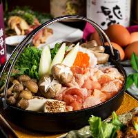 《宴会大好評》人気の地鶏宴会コースは2,999円よりご用意★