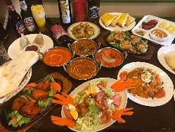 パーティーコースはどれもおすすめ♪食べ放題コースもございます