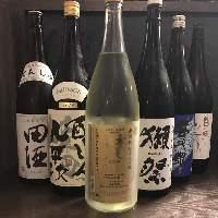 各地の日本酒や、焼酎を飲み比べてみてはいかがですか♪