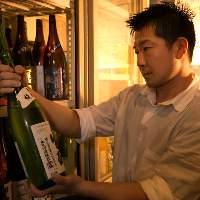 日本酒を厳選。
