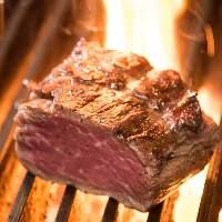 人気のぶるステーキは+1,100円(税込)で100g増量できます★