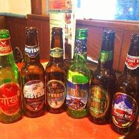 ネパールのビールも多数取り揃えております!お料理とご一緒に♪