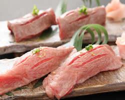 『和牛炙りにぎり』など、ご飯や一品料理も絶品揃いです!