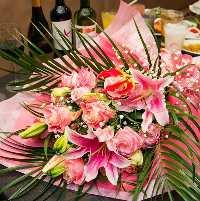 [ご宴会特典☆] 4名様以上のコース利用で花束をお一つご用意可
