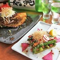 鮎を使用した料理など旬の食材などもございます。