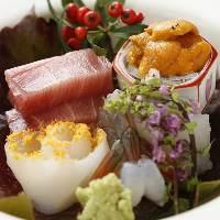四季を感じられるお料理は、職人ならではの味を引き出します!