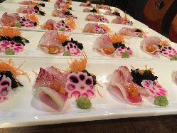 羽田市場より鮮度抜群鮮魚使用