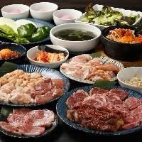 【宴会】 各種シーンに!2H飲み放題付焼肉コース3,980円~