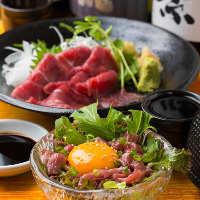 舌の上でとろける上質な味!熊本の農場直送の新鮮美味な馬肉