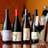 料理によく合うワインも多数取り揃えております。