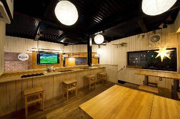 ロフトのある一軒家レストラン ヤツハシ 蒲田