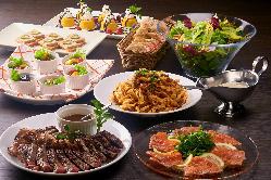 ホテルレストラン経験20年のベテランシェフが創る多彩な料理