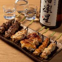 こだわり日本酒を充実させております。焼鳥との相性も抜群!!