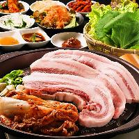 本格韓国料理はどれも絶品!!