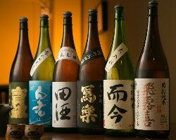 つまみに合うお酒の種類も豊富
