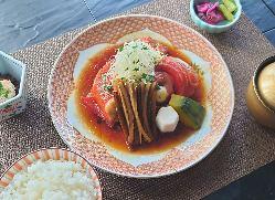 [幸せハート型イチゴムース] 記念日にピッタリの可愛いケーキ☆