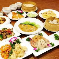 フカヒレやアワビも味わえる飲み放題付中華宴会コース