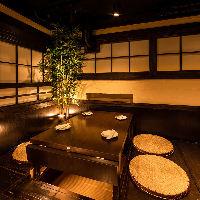 地酒・焼酎は日本各地より厳選しております!飲み比べをぜひ!