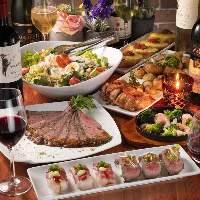 シュラスコ食べ放題が3時間制でご利用可能です!歓送迎会に!!