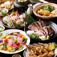 三浦・金沢漁港の鮮魚やお鍋などを堪能!飲放付コース4,500円~