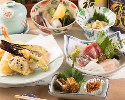 風味・食感・旨味にこだわった鮮魚のお造りはおすすめの逸品
