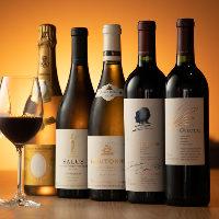 ワインや日本酒など、名産地から取り寄せた、自慢のドリンク