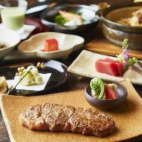とろける石垣牛を堪能「石垣牛ステーキコース」15,800円(税込)