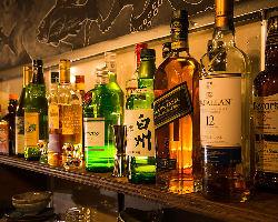 お酒の種類も豊富にご用意♪ちょい飲み~宴会まで利用可能◎