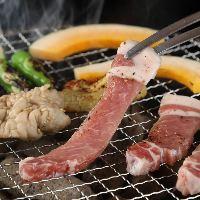 七輪で焼くお肉は格別!!