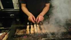 【こだわりの串焼】 店主が心をこめてお作りします。