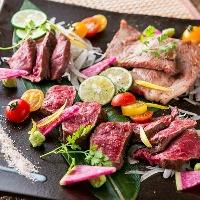 肉料理に自信あり! 様々な調理方法で提供いたします!