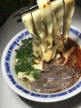 中国蘭州 牛肉麺