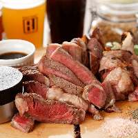 創作肉料理に力入れております♪