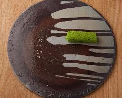 料理の味はもちろん、見た目の美しさもKabiでの楽しみのひとつ。