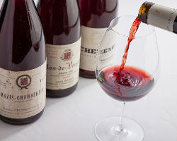 料理と相性抜群のワインをご用意しております