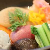 素材本来の味わいをお楽しみいただけるお料理の数々。