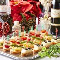 新鮮魚介や旬食材を使った地中海料理を味わうコースをご用意