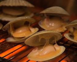 海鮮の炉端焼きは絶品