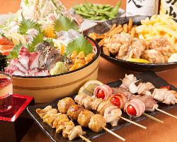 ◆料理に使用する食材は、厳選した新鮮な食材を使用♪