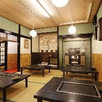 昭和レトロでどこか懐かしい雰囲気で人気のお座敷席