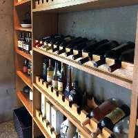 ワインや日本酒、焼酎など様々なドリンクがございます