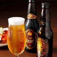コクとフルーティーさが特徴のスリランカビール「LIONラガー」