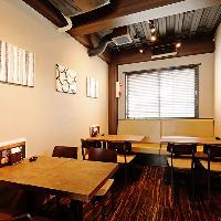 浦和駅徒歩圏内、おしゃれな店内は着席22名様/立食28名様貸切OK