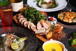 記念日におすすめの「洋食ディナーコース」5,000円(税抜)