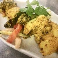 Tandoor Vegetable 新しく登場した野菜のタンドールです。