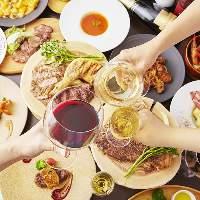各種宴会など様々なシーンに対応するディナーコース