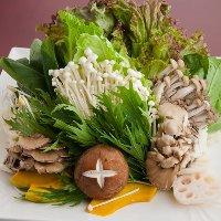 肉、野菜から海鮮まで豊富なラインナップであなただけの鍋♪